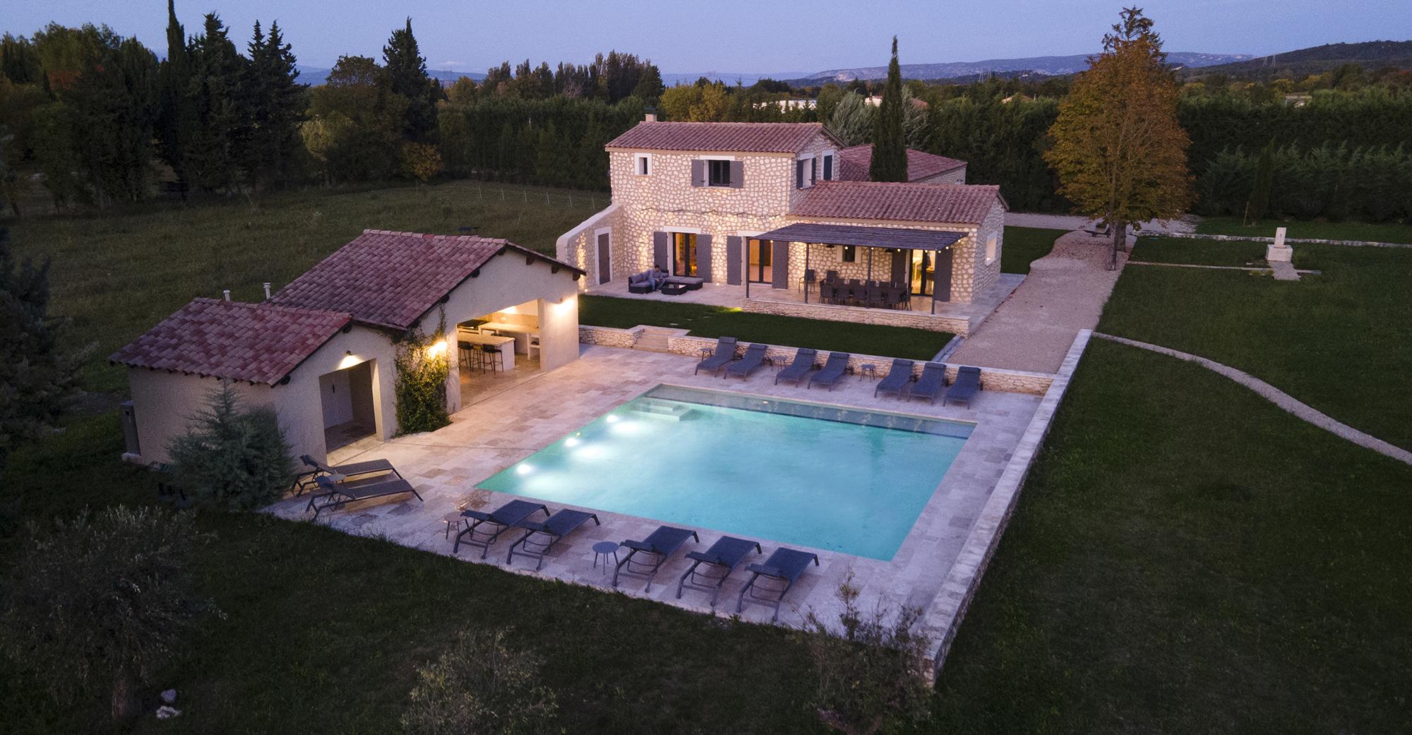 La Conciergerie, immobilier, drone, vue aérienne